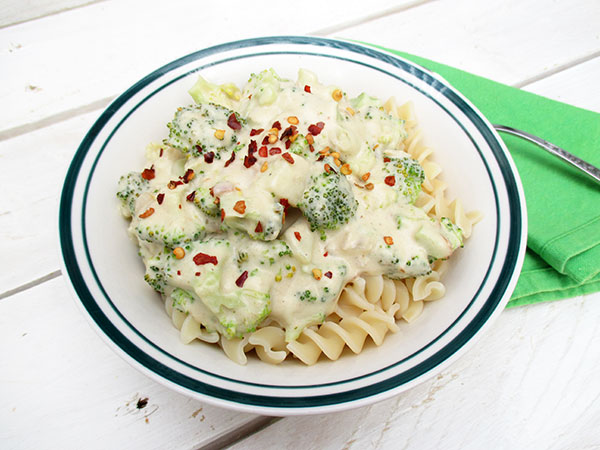 Vegan Gluten-free Dairy-free Broccoli Creamy Sauce