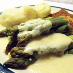 Simple Asparagus Sauce (Vegan, Gluten-free)