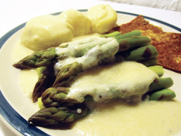 Simple Asparagus Spargel Sauce Vegan Gluten-free Dairy-free