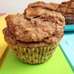 Bananen Muffins (Vegan, Glutenfrei)