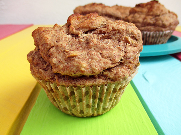 Banana Muffins (Vegan, Gluten-free, Dairy-free, Egg-free)