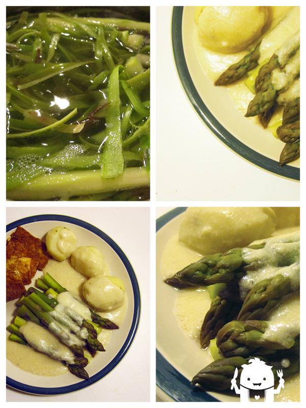 simple asparagus sauce