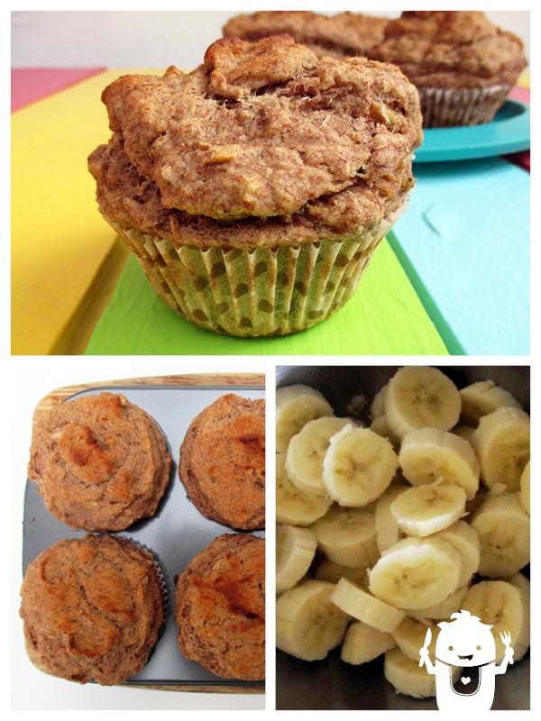 bananen muffins vegan glutenfrei das vegan monster vegane glutenfreie rezepte. Black Bedroom Furniture Sets. Home Design Ideas