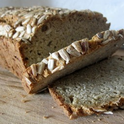Sunflower Seed Bread (Vegan, Gluten-free)