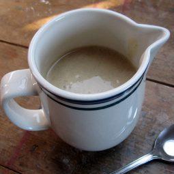 Vanille-Soße (Vegan, Glutenfrei)