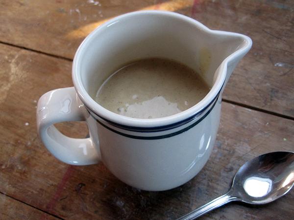 Vanilla Custard Sauce (Vegan, Gluten-free, Dairy-free)