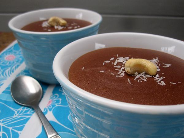 Cashew Chocolate Dessert (Vegan, Gluten-free)