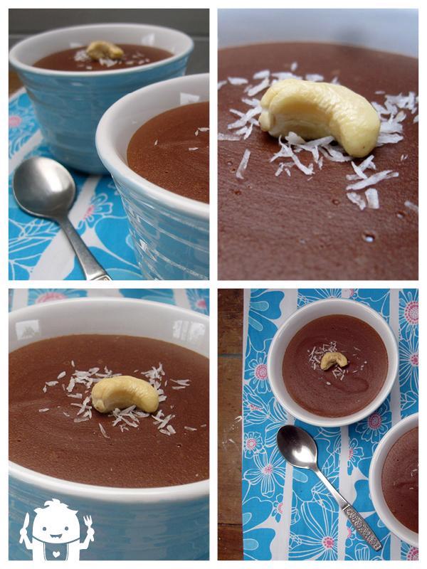 cashew chocolate dessert