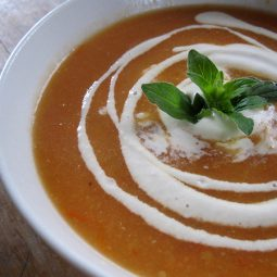 Kumara (Sweet Potato) Tomato Soup