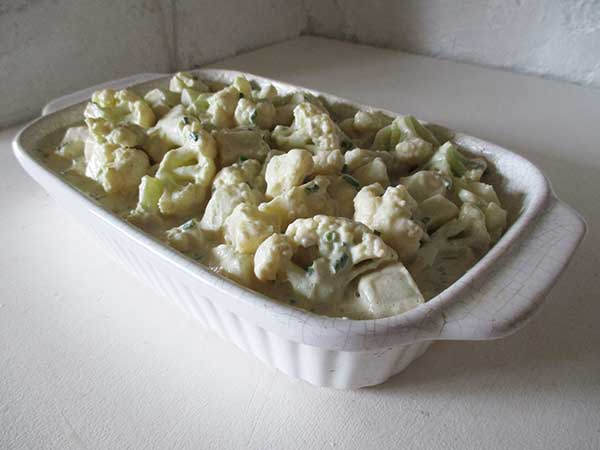 Vegan Gluten-free Cauliflower Potato Casserole