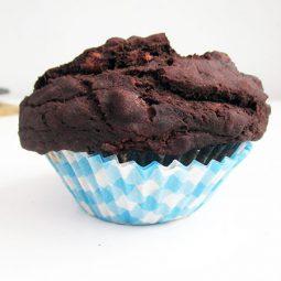 Chocolate Banana Muffins (Vegan, Gluten-free)