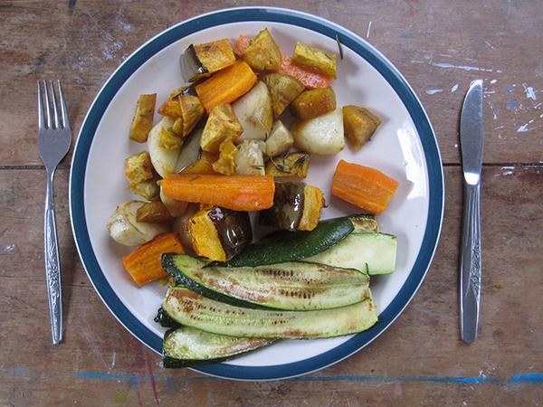 Vegan Roasted Vegetables