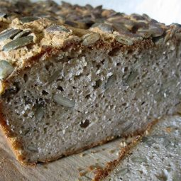 Pumpkin Seed Bread (Vegan, Gluten-free)