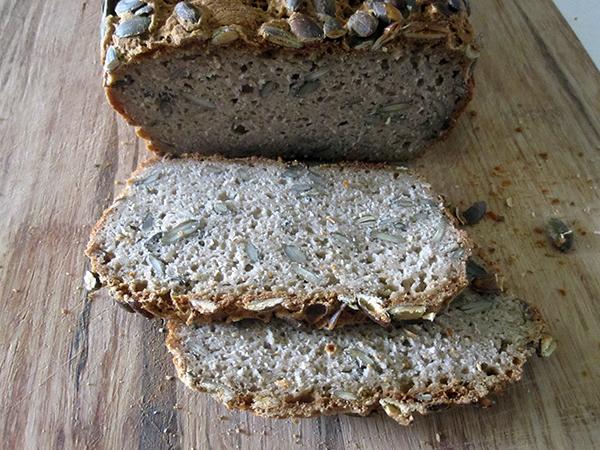 Vegan and Gluten-free Pumpkin Seed Bread