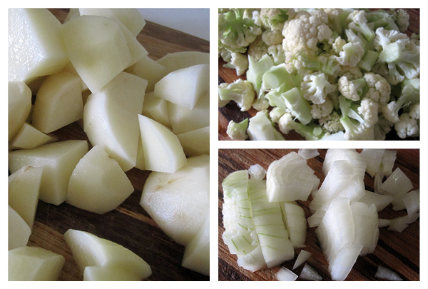 Vegan Gluten-free Cauli Potato Soup