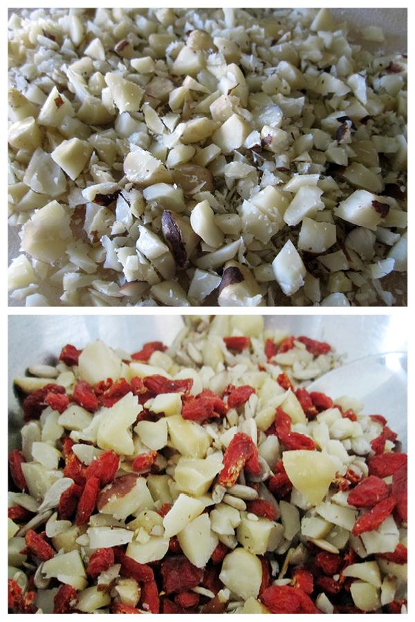 Vegan Gluten-free Goji Berry Granola Slices