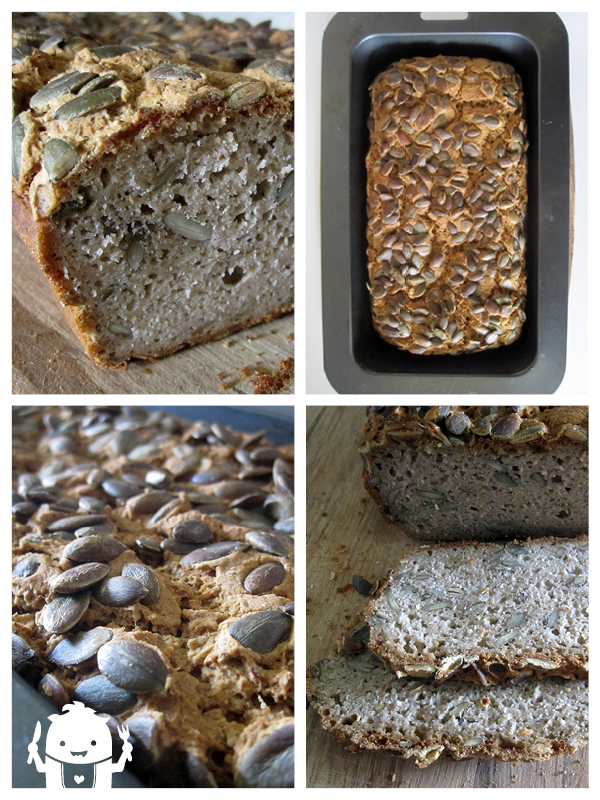 Vegan and Gluten-free Pumpkin Seed Bread