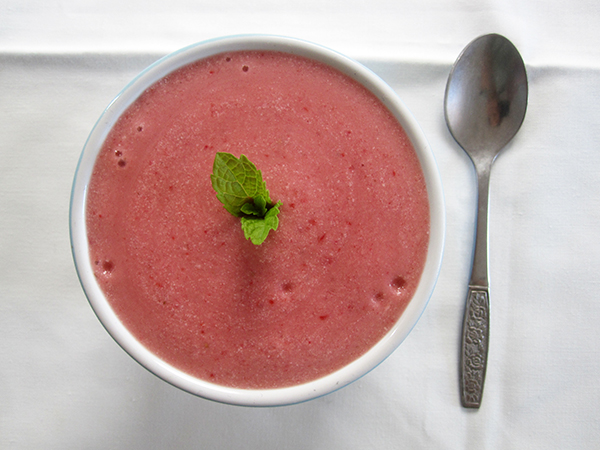 Vegan Gluten-free Strawberry Coconut Cream