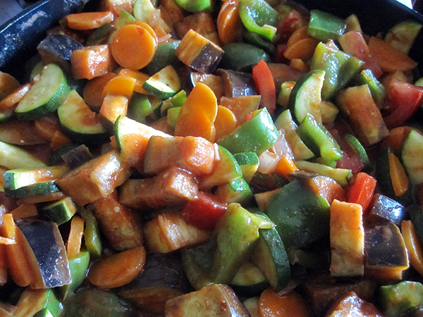 Vegan Gluten-free Summer Vegetable Stir-Fry