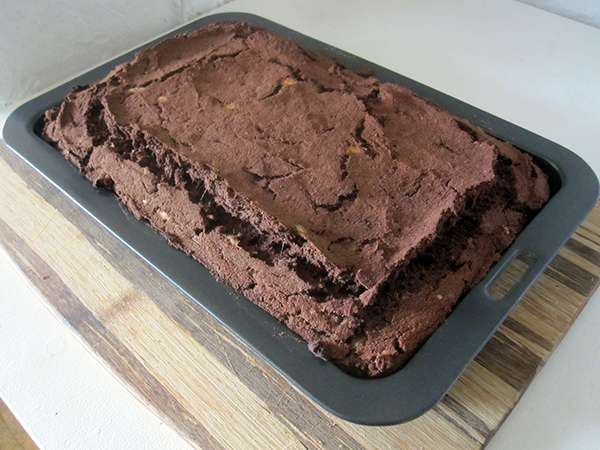 Chocolate Mud Cake With Olive Oil