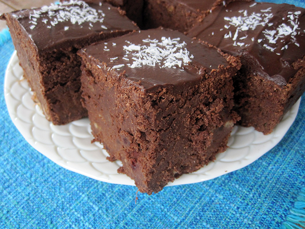 Chocolate Mud Cake (Vegan, Gluten-free, Dairy-free, Egg-free)