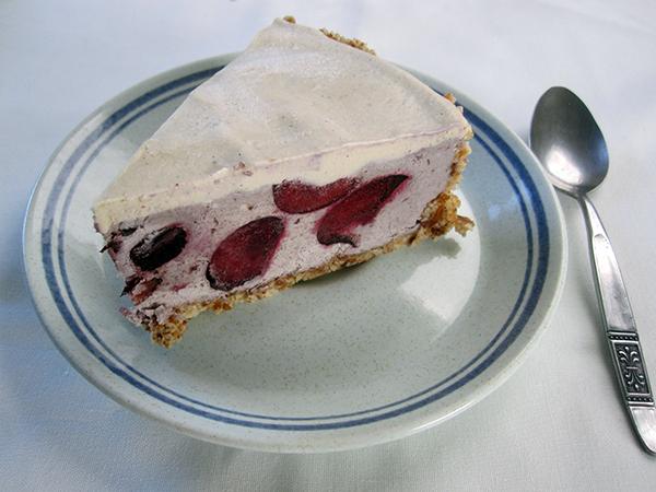 Vegan Gluten-free No-Bake Cherry Cake