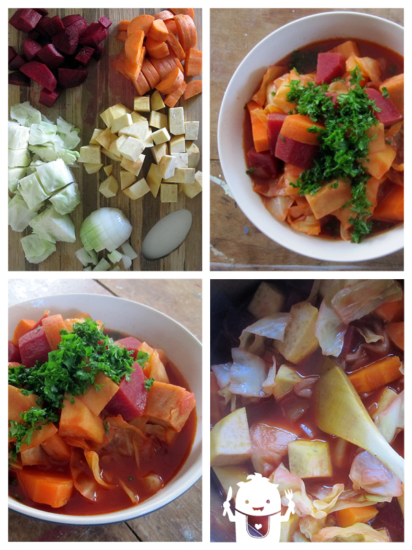 Vegan Spicy Red Vege Soup