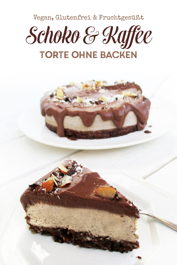 Vegan Glutenfrei Schokoladen Kaffee Torte Ohne Backen Rezept