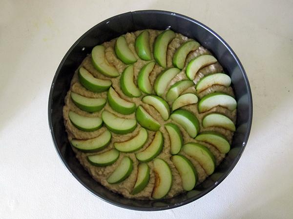 Vegan & Gluten-free Apple Walnut Cake