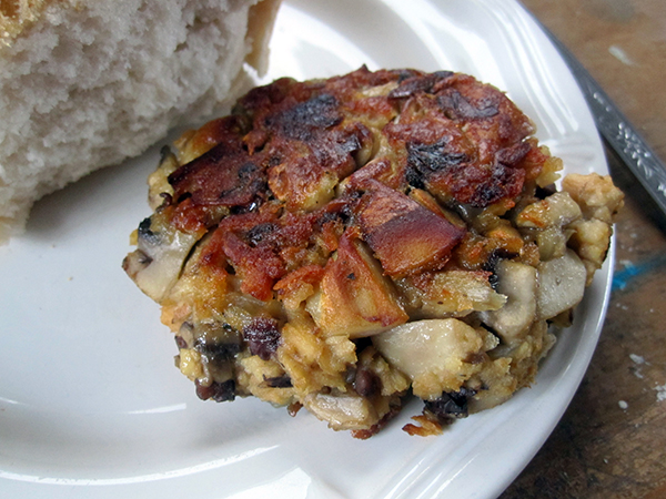 Vegan Gluten-free Mushroom Burger Patties