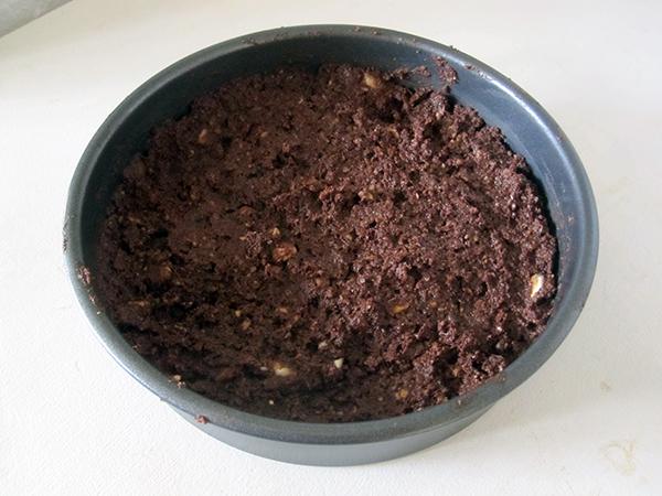 vegan Gluten-free Raw Chocolate Vanilla Hazelnut Cake