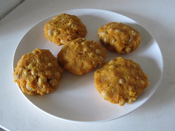 Vegan Gluten-free Kumara Chickpea Burger