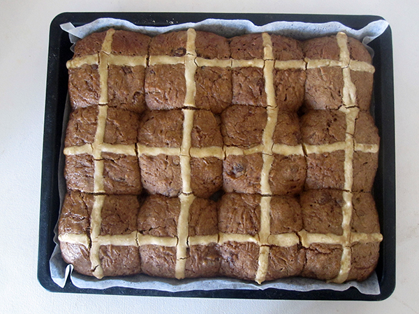 Hot Cross Buns (Vegan, Gluten-free), Dairy-free, Egg-free