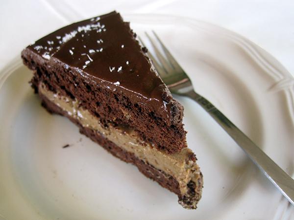 Vegan Gluten-free Chocolate Mocha Cake