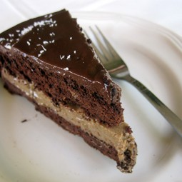 Schokoladen Mokka Kuchen (Vegan, Glutenfrei)