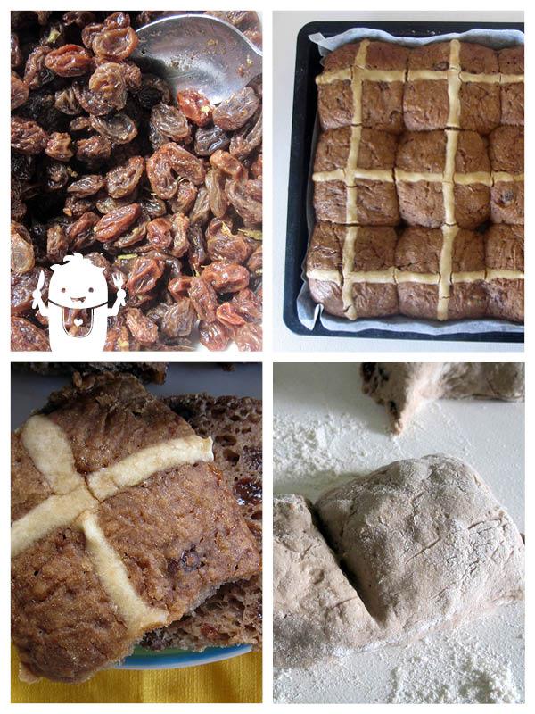 Vegan Gluten-Free Hot cross Buns