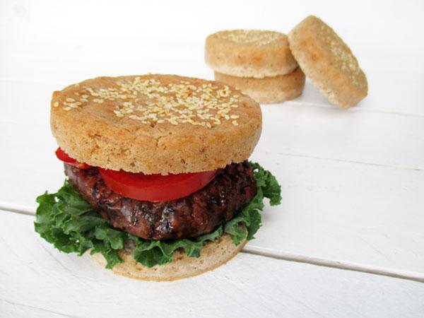 Vegan Gluten-free Burger Buns Recipe