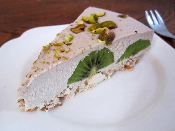 No Bake Kiwifruit Cake (Vegan, Gluten-free, Dairy-free, Egg-free)