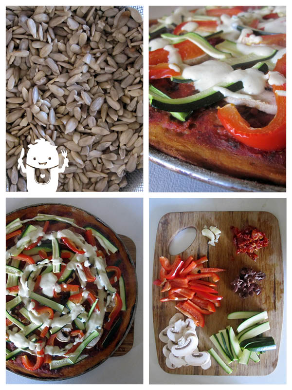 Vegan Gluten-free Pizza Dough Sunflower-seeds
