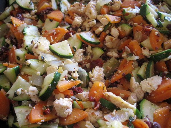 Vegan Gluten-free Tofu Vege Bolognese