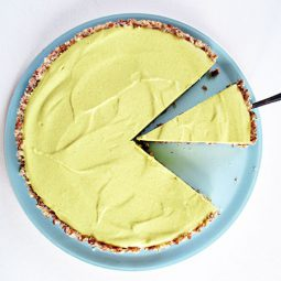 No-Bake Lemon Tart (Vegan, Gluten-free)