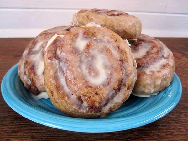 Vegan Gluten-free Cinnamon Rolls