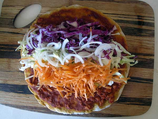 Vegan Gluten-free Turkish Pizza Lamachum