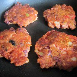 Kidneybohnen Bratlinge (Vegan, Glutenfrei)