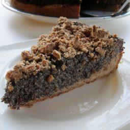 Poppyseed Cake (Vegan, Gluten-free)