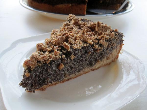 Vegan Gluten-free Glutenfrei Poppy Seed Cake Mohnkuchen