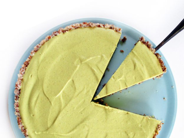 No Bake Lemon Tart Vegan Gluten-free Fruit-Sweetened Recipe - Nix Backen Zitronen Torte Vegan Glutenfrei Fruchtgesüßt Rezept