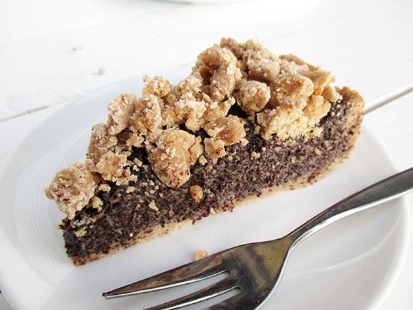 Vegan Gluten-free Dairy-free Refined Sugar Free Poppyseed Cake Mohnkuchen Recipe Rezept