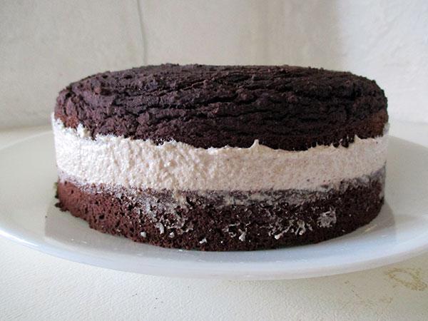 Vegan Gluten-free Chocolate Hazelnut Cake