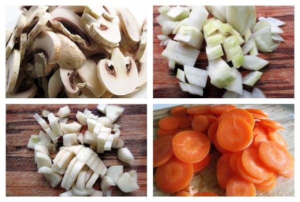 Vegan Gluten-free Mushroom Fricassee